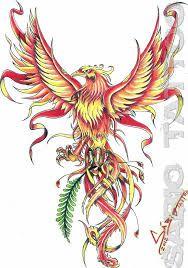 Resultado de imagem para fenix tattoo oriental desenho