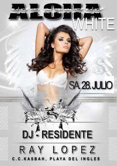 Aloha White Party & Ray Lopez Aloha Beaches, Beach Club, Dj, Party, Receptions, Direct Sales Party