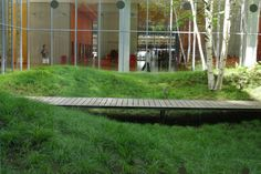Gallery of The New York Times Building Lobby Garden / HM White Site Architects + Cornelia Oberlander Architects - 21 Contemporary Landscape, Urban Landscape, Landscape Design, Garden Design, Modern Landscaping, Backyard Landscaping, Landscape Architecture, Architecture Design, Townhouse Garden