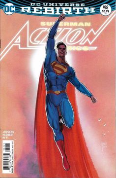 DC Universe Rebirth Superman Action Comics issue 982 Limited variant