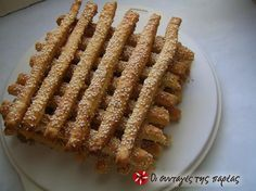 Great recipe for Savory kritsinia. Savory kritsinia (breadsticks) for a quick snack or to just accompany your breakfast or meal! Recipe by Φιλιω Sweets Recipes, Cooking Recipes, Diet Recipes, Greek Appetizers, Savory Muffins, Pizza, Christmas Cooking, Quick Snacks, Recipe Images