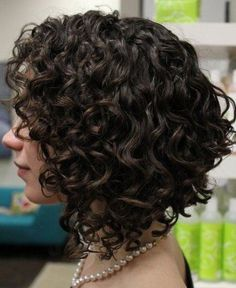 Medium Curly Bob Hairstyle                                                                                                                                                      More