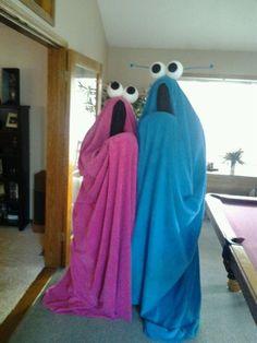 """OMG Yip Yip costumes!  Record some sound effects and play them all night """"yep, yep, yep, yep, yep"""""""