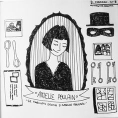 "Day 32: Amelie Poulain | Le Fabulex Destin  D'Amelie Poulain (2001)""I like to look for things no one else catches"""