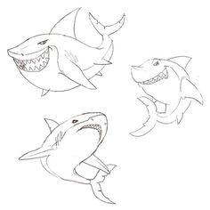 Marvelous Drawing Animals In The Zoo Ideas. Inconceivable Drawing Animals In The Zoo Ideas. Zoo Drawing, Shark Drawing, Zombie Birthday, Shark Art, Creatures 3, Shark Tattoos, Animal Drawings, Drawing Animals, In The Zoo