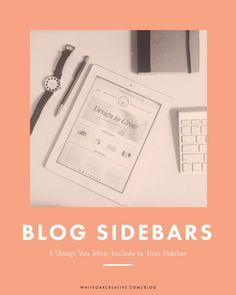 5 Things Your Blog Sidebar Needs to Have  blog tips, blog tutorial, wordpress blog guide, wordpress tutorial, seo tips, blog recommendations