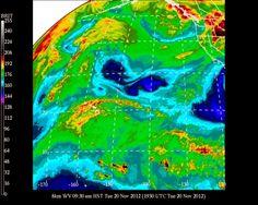 #UHManoa #Hawaii #Meteorology #Weather #Temp 73F #RH 78% #Winds E 10mph #Cloudy #Maui