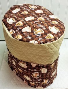 Check out this item in my Etsy shop https://www.etsy.com/listing/225783538/tan-quilted-coffee-cover-for-keurig-k10