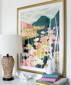 """""""Water Lilies"""" #art print by #cozamia"""