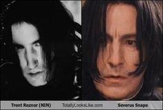 Trent Reznor/Snape