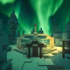 I've made a small modern igloo. Minecraft Mountain House, Minecraft Small House, All Minecraft, Minecraft House Designs, Minecraft Construction, Minecraft Blueprints, Minecraft Creations, Minecraft Structures, Minecraft Buildings