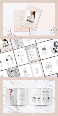 Searching for modern InDesign business proposal templates? I bet you'll find something to suit your needs or those of your client. Mode Portfolio Layout, Indesign Portfolio, Free Portfolio Template, Portfolio Web, Portfolio Design, Project Proposal Template, Business Proposal Template, Proposal Templates, Business Proposal Ideas