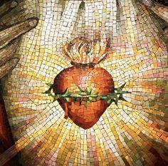 The Good Catholic, Catholic Art, Catholic Pictures, Jesus Pictures, Bible Pictures, Religious Images, Religious Art, Jesus E Maria, Heart Painting