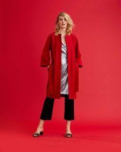 Wrap Coat 08/2017 #107 – Sewing Patterns  | BurdaStyle.com