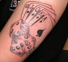 #Poker Tattoo