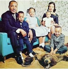 Bear Skin Rug, Martin Luther King Quotes, Coretta Scott King, Civil Rights Leaders, Family Affair, African American History, Life Humor, History Facts