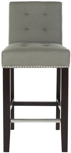 Amazon.com - Safavieh Thompson Counter Stool - Barstools With Backs