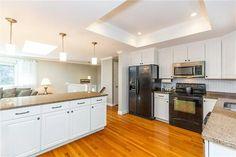 North Attleboro, Kitchen Island, Kitchen Cabinets, Home Decor, Island Kitchen, Decoration Home, Room Decor, Cabinets, Home Interior Design