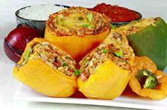 Awesome Stuffed Peppers recipe #dan330 http://livedan330.com/2015/06/17/stuffed-peppers/