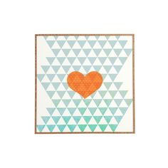 DENY Designs 'Hello Twiggs - A Love Affair' Wall Art (£34) ❤ liked on Polyvore featuring home, home decor, wall art, multi color, colorful wall art, deny designs, heart wall art, colorful home decor and deny designs home accessories