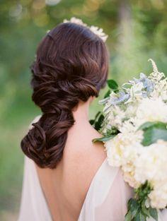 Romantic Twisted Braid Hairdo | photography by http://www.krystleakin.com/