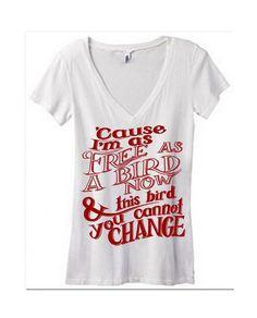 Womens Junior FREE BIRD Quote Gypsy Boho Bohemian 100% cotton Tissue Short Sleeve vneck Sheer T shirt Tee screen print Top Bella S M L XL