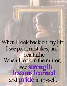 When you look in the mirror, make sure you see the right reflection.make sure you see who are.not who you were Words Quotes, Wise Words, Life Quotes, Random Quotes, Pain Quotes, Positive Quotes, Motivational Quotes, Inspirational Quotes, Strong Quotes