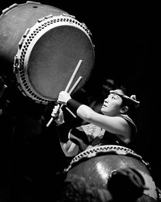 taiko drum by Marcia Campbell - Kenny Endo Taiko Ensemble