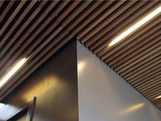 Panneau pour plafonds suspendus en bois NODOO | Wooden ceiling by NODOO