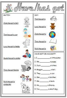 Resultado de imagen de verb have got exercises pdf