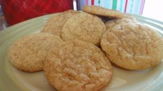 """""""This must be one of the best cookies I have ever eaten!  AKA Snickerdoodles from Food.com: Yep, thats what my mother said the first time I ever made this cookie. It is a GREAT cookie recipe, and not difficult to make at all. I tripled the recipe and took it to school to sell... I sold all of them with in an 80 minute time span to only 4 people. They are good cookies, I can't resist them whenever I make them. And they turn out so nice whenever you bake them, it's hard to make an ugly Snickerd..."""