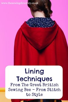 Lining Techniques from The Great British Sewing Bee Book 4