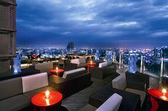 Blue Sky at Sofitel Centara Grand Bangkok, Thailand - 10 Best New Hotel Rooftop Bars Around the World Slideshow at Frommer's