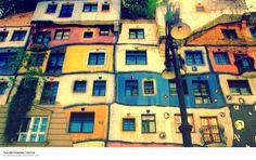 Hundertwasser Haus, Wien