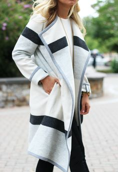 STYLE // Fall Blanket Coat - Style CuspStyle Cusp