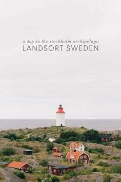 Landsort, Sweden - the southernmost island in the Stockholm Archipelago Backpacking Europe, Europe Travel Tips, Travel Guides, Travel Packing, Europe Packing, Traveling Europe, Shopping Travel, Travelling Tips, Packing Lists