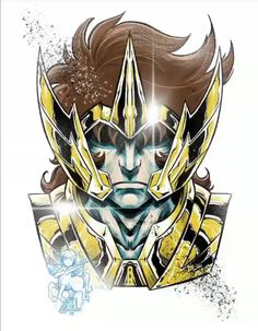 Saint Seiya Egypt Concept Art, Manga Anime, Chibi, Sagittarius Constellation, Naruto Vs Sasuke, Illustration Sketches, Manga Games, Les Oeuvres, Game Art