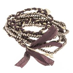 Marlee's Five Wrap Beaded Bracelet | Marlee's by Tappers | Fall Style | Fall Fashion | Fall Jewelry