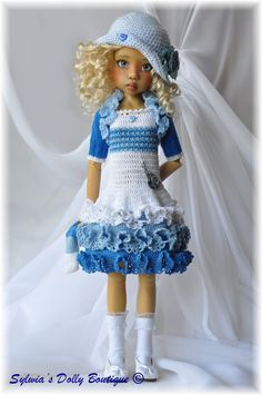 https://flic.kr/p/e4PDZN   Blue frills   A dress for MSD, modeled by Hope Wiggs