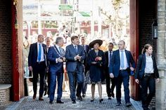 King Willem-Alexander and Queen Maxima visits West-Brabant