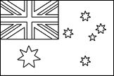 Blank coloring pages of country flags, learn the country's name, capital, location in the world, and color the flags!