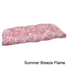 @Overstock - Add a distinctive look to your indoor or outdoor space with the Summer Breeze loveseat cushion from Pillow Perfect. This outdoor cushion spotlight a contemporary pattern and a weather resistant polyester construction.http://www.overstock.com/Home-Garden/Pillow-Perfect-Summer-Breeze-Polyester-Tufted-Wicker-Outdoor-Loveseat-Cushion/7847376/product.html?CID=214117 $55.99