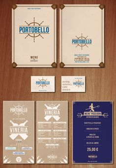 Italian designer, Antonio D'Amore  has created a whole restaurant brand  – he makes this elegant design look so simple.