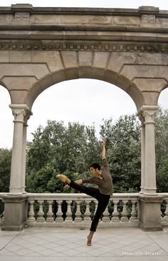 Alejandro Virelles in Barcelona's Ciutadella Park    Photo by Francisco Estévez