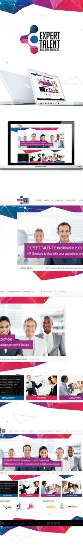 Expert Talent by Monish , via Behance #agency #website