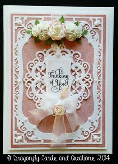 Dragonfly Cards and Creations: Thinking of You!