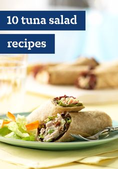 10 Tuna Salad Recipes – A classic tuna salad recipe may be the ultimate summer lunchtime recipe. It's perfect for cold sandwiches or fresh wraps on the go!