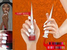 Long Sharp Nails The Sims 4 _ Bộ sưu tập móng tay dài và nhọn Phần 1 Halloween Eye Makeup, Halloween Eyes, Halloween Nails, Sims 4 Nails, Cc Nails, Sims 4 Teen, Sims Cc, Maxis, Witch Nails