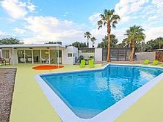 Palm Springs House Rental: Party Like Its 1959, Mid Century Modern Pool Home Featured On House Hunter Show | HomeAway