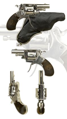 .320 CENTRE-FIRE BULLDOG REVOLVER APPEARING UNUSUED, ST ETIENNE PROOFS - sold…